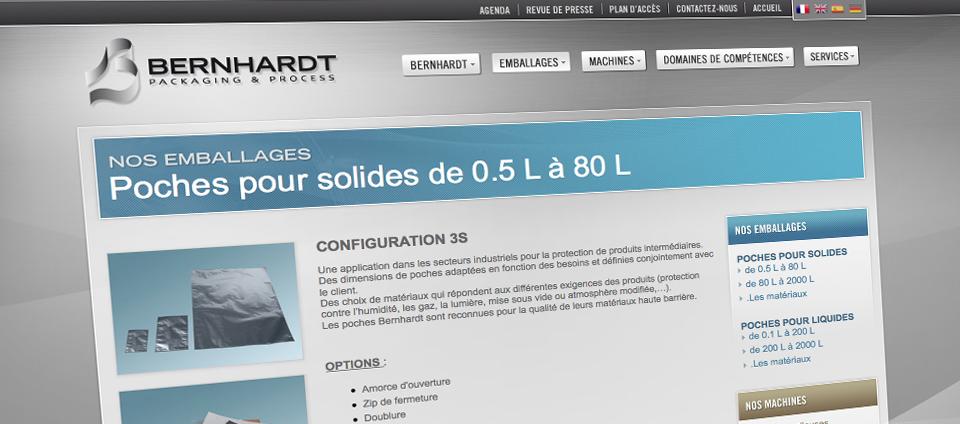 Site web BERNHARDT