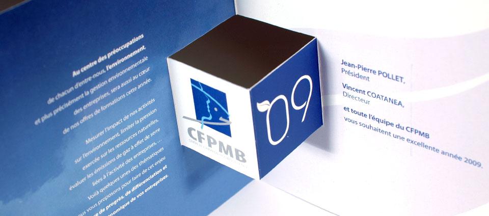 Carte de voeux CFPMB