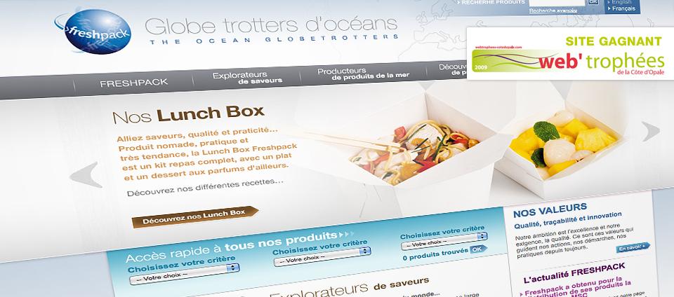 Site web Freshpack
