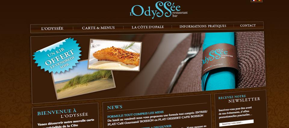 Site web L'Odyssée