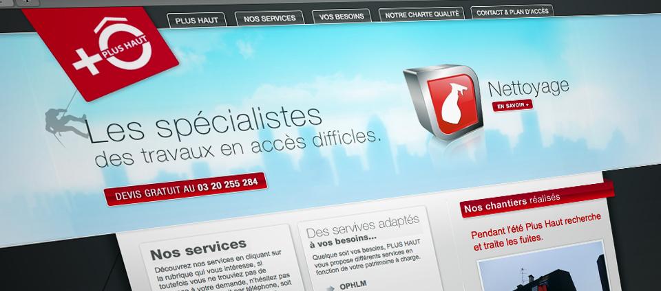 Site web Plus Haut