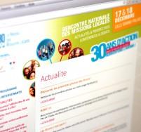 UNML création d'un blog 30 ans des missions locales