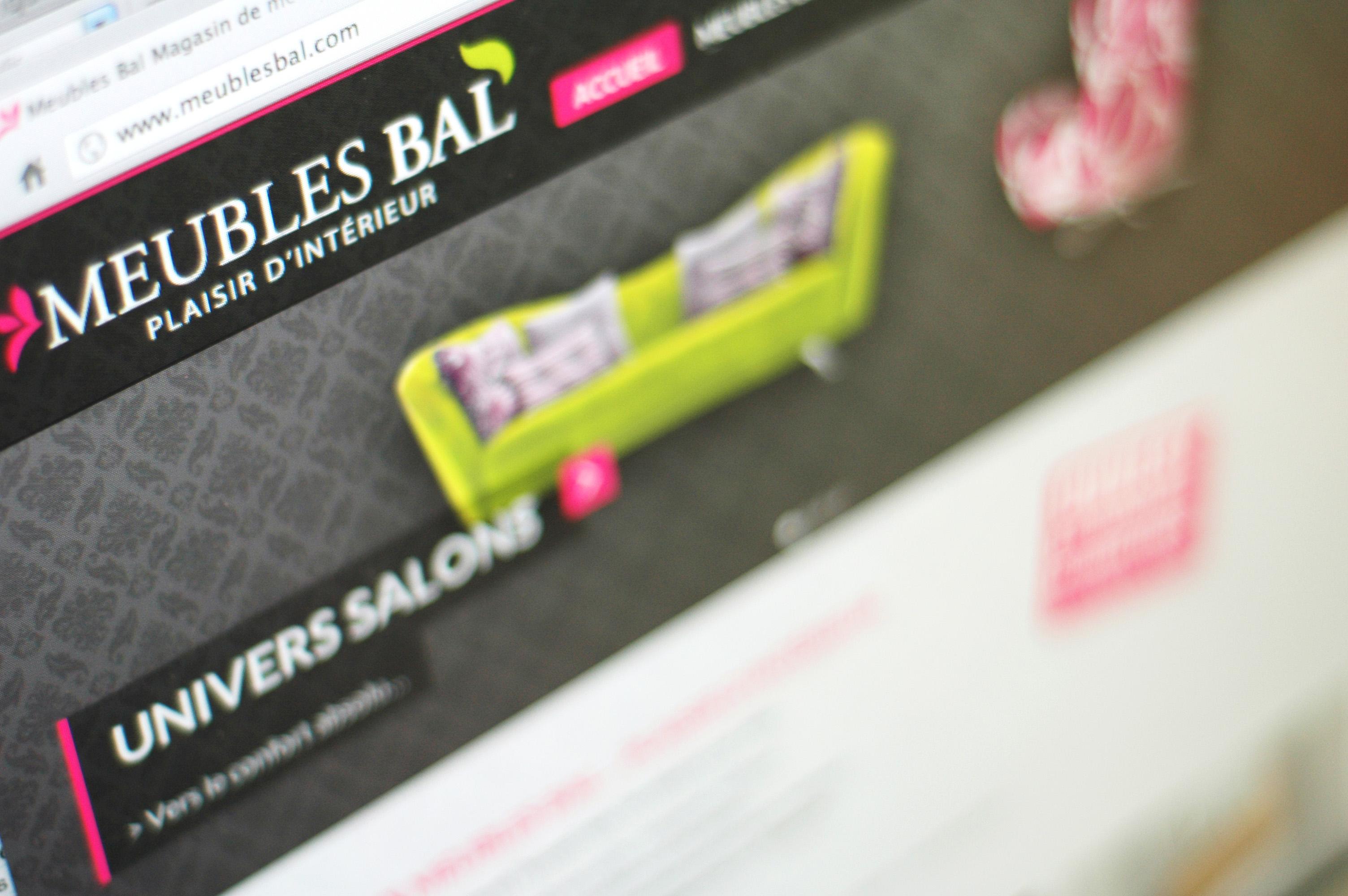création de site web Calais nord pas-de-calais 59/62 design de site web wordpress Meubles BAL