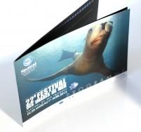 NAUSICAA - Création de la brochure du Festival des Images de Mer 2013
