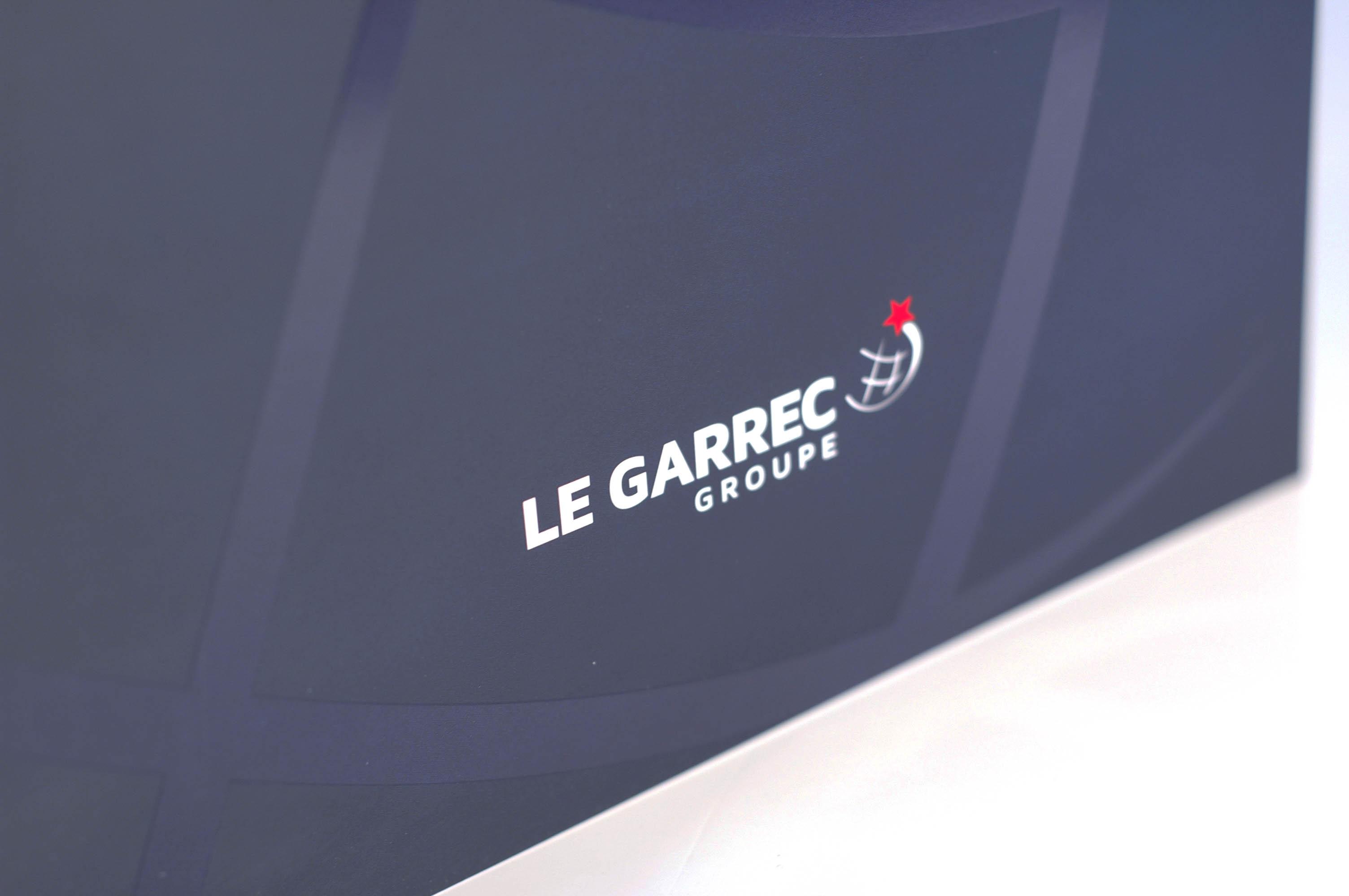 GROUPE LE GARREC - Création de logo et plaquette