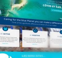 World Ocean Network Création du site web