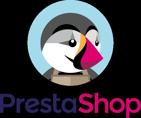 Prestashop logo création de site e-commerce boulogne calais dunkerque saint omer