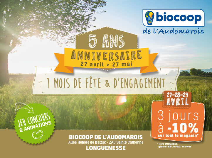 BIOCOOP-campagne de communication