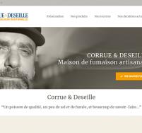 Création de site web Boulogne sur Mer, Calais Corrue & Deseille