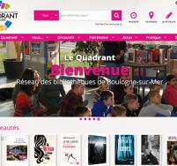 Création de site web Boulogne sur Mer, Calais Le Quadrant