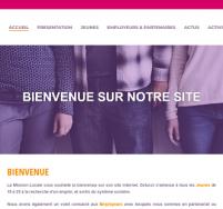 Création de site web Boulogne sur Mer, Calais Mission Locale